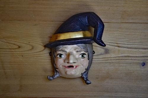 Maske 18cm gefaßt