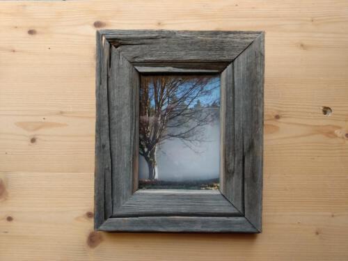 Bilderrahmen aus altem Holz
